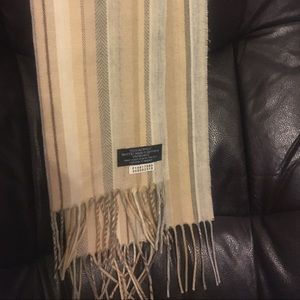 Herringbone Acrylic scarf